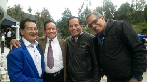 Maestros GYentino Hiparco, Cristobal Galindo y Manoello
